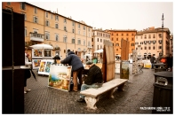 Streets of Navona, Italy